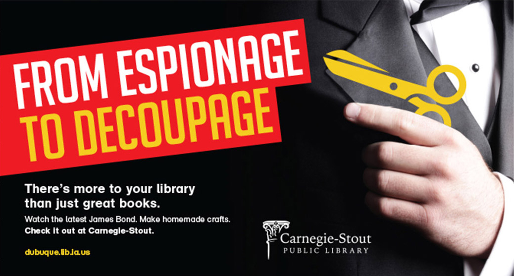 Carnegie Stout Public Library Advertisement-3