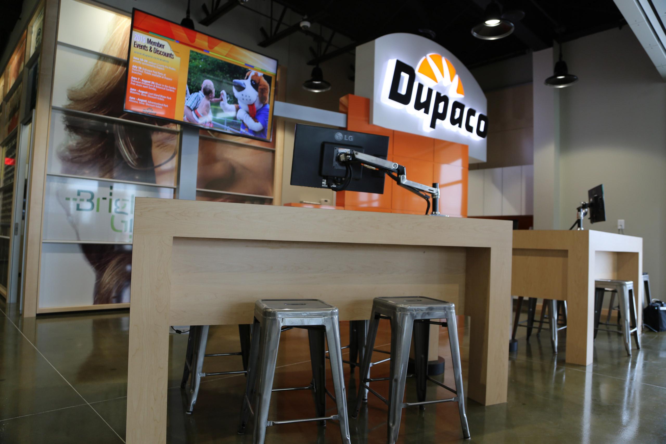 Dupaco Corporate Environment Teller Station