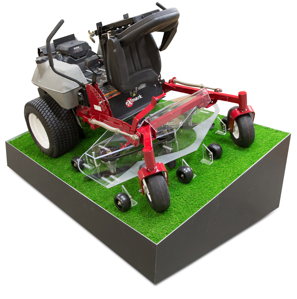 A&I Products Mower TradeShow Display