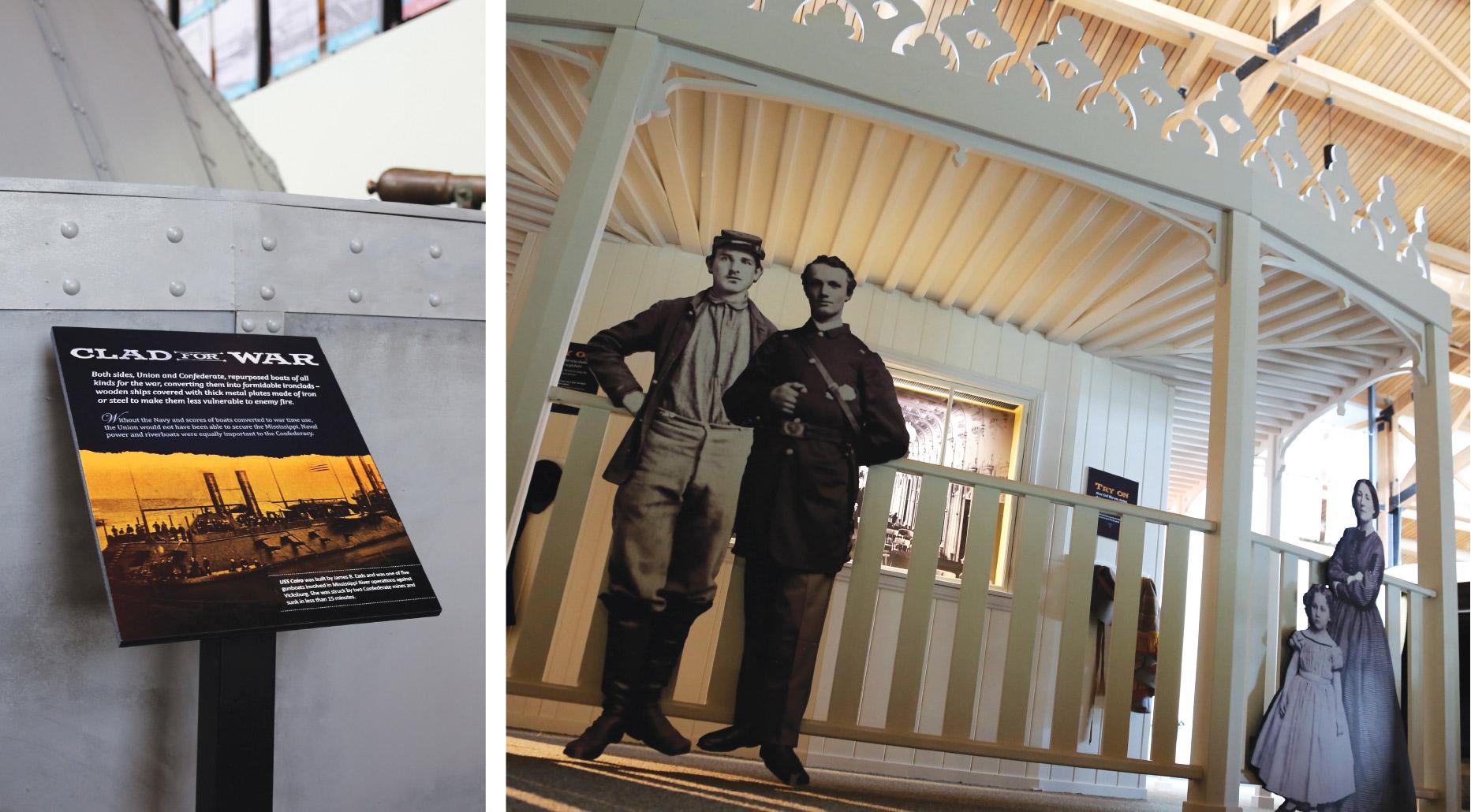 Civil War Museum Components