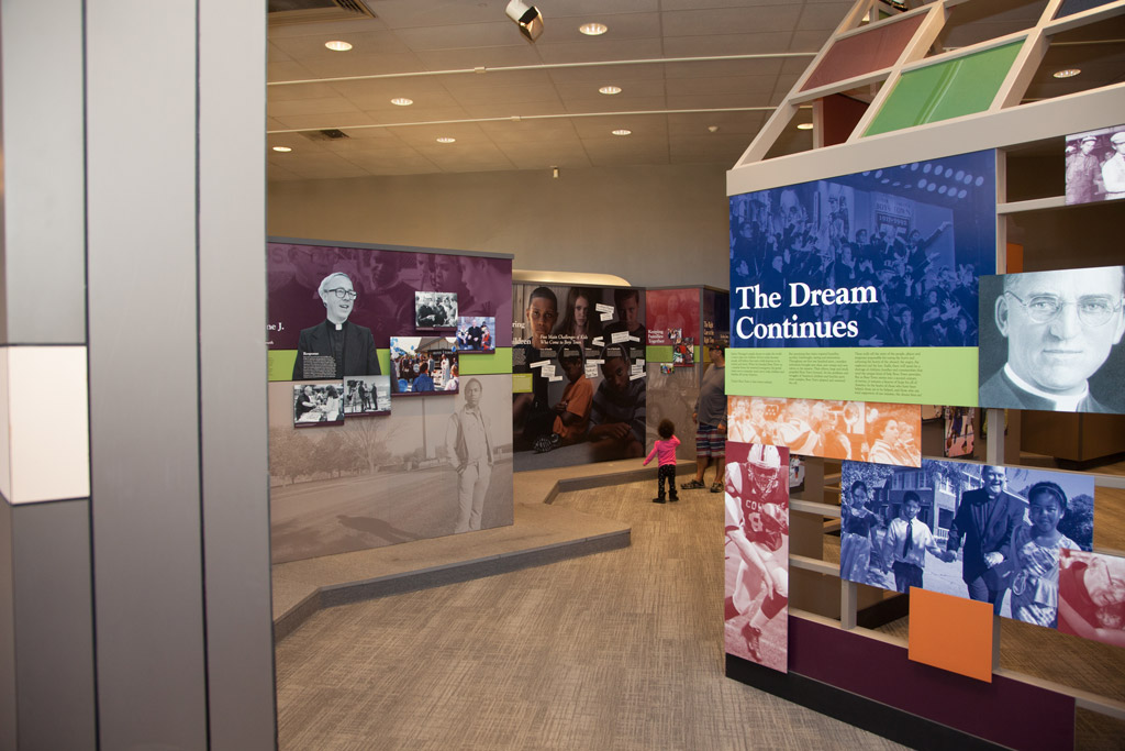 Boys Town Museum The Dream Continues Display