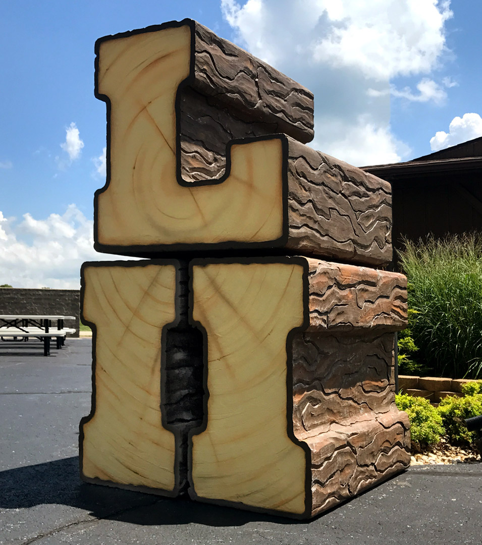 John Deere LII-Skidder Log Display