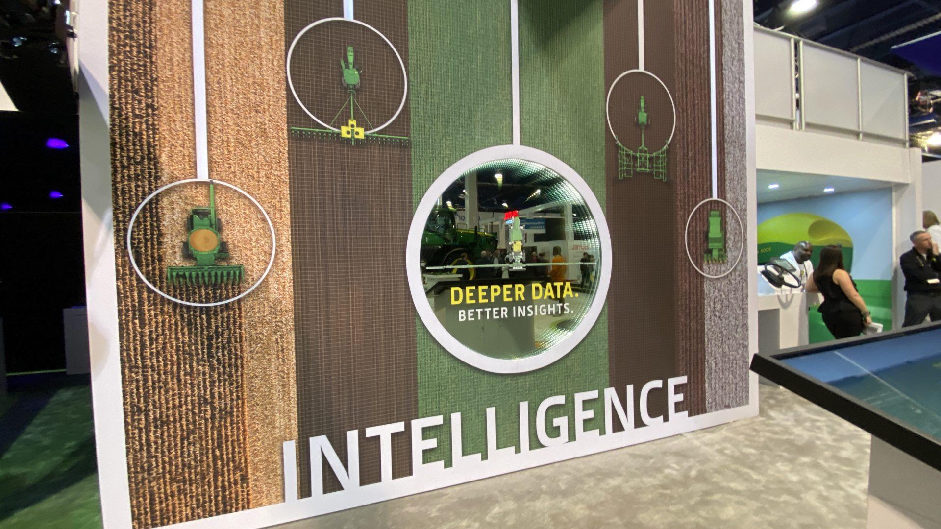 John Deere CES 2020 Intelligence Wall