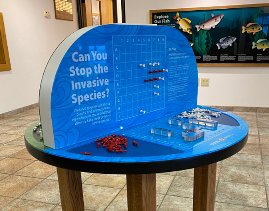 Washington County Conservation Battleship Interactive Game Side-2