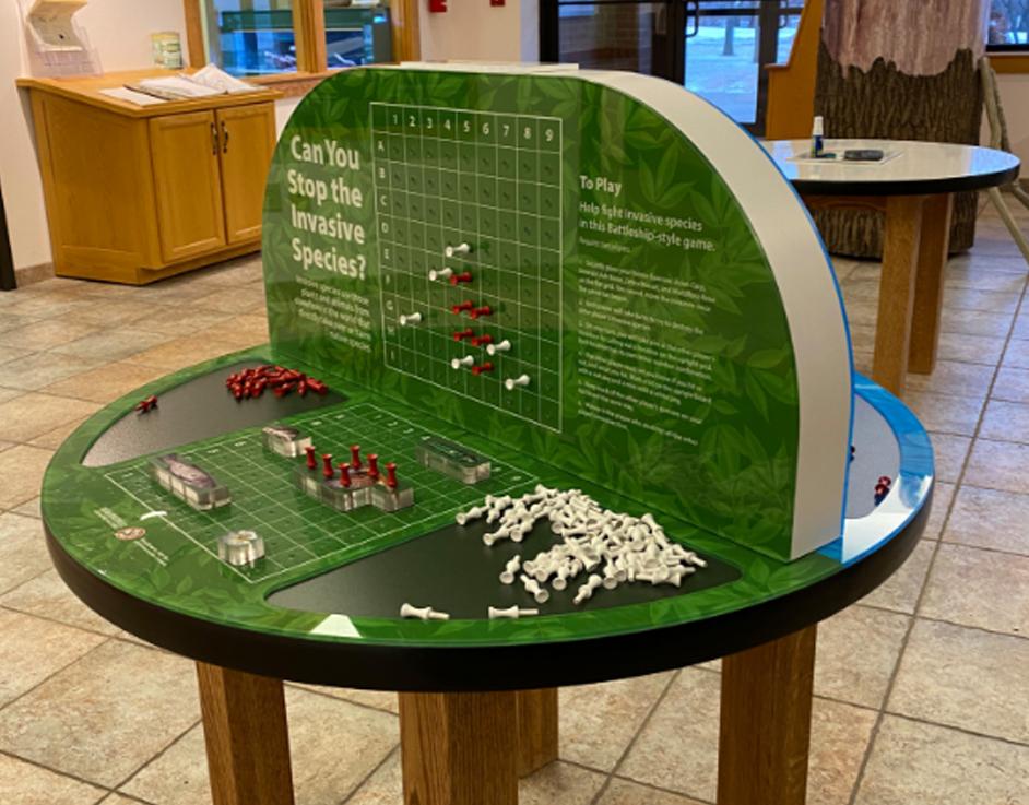 Washington County Conservation Battleship Interactive Game Side-1