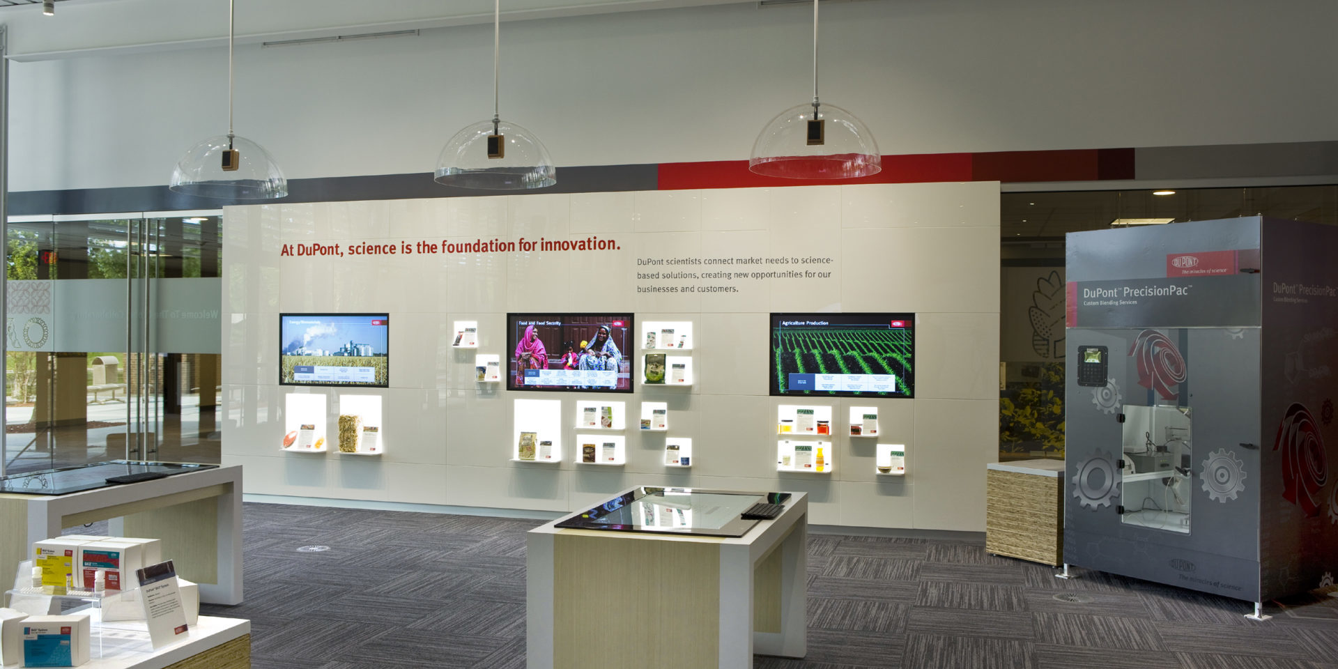 Johnston County Innovation Center Touch Screen Interactives