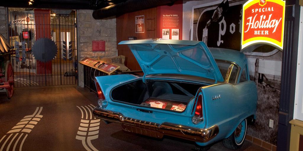 Potosi Brewing Company Museum Historic Car